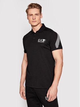 EA7 Emporio Armani EA7 Emporio Armani Pólóing 3KPF21 PJ02Z 1200 Fekete Regular Fit