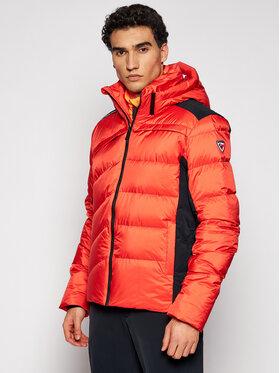 Rossignol Rossignol Lyžařská bunda Hiver RLIMJ40 Oranžová Slim Fit