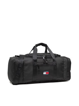 Tommy Jeans Tommy Jeans Σάκος Tjm Heritage Duffle AM0AM07601 Μαύρο