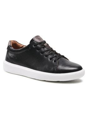 Clarks Clarks Sneakersy Cambro Low 261583527 Czarny