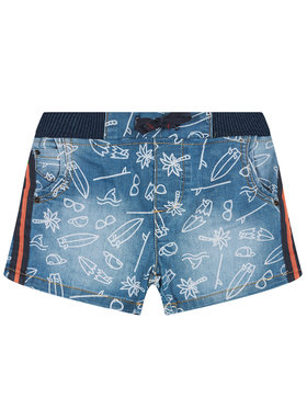 Primigi Primigi Pantaloni scurți de blugi Surfing King 45241091 Albastru Regular Fit