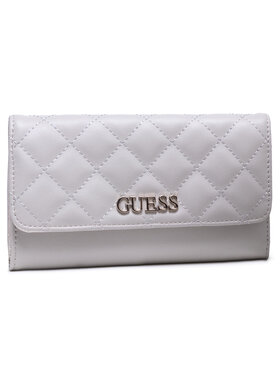 Guess Guess Portefeuille femme grand format Illy (Vg) Slg SWVG79 70650 Gris