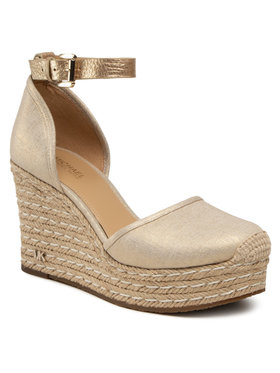 MICHAEL Michael Kors MICHAEL Michael Kors Espadrilles Kendrick Wedge 40S1KNMS1D Goldfarben