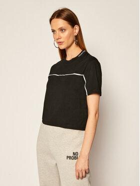 Calvin Klein Jeans Calvin Klein Jeans T-Shirt K0YI22 KA6S0 Czarny Regular Fit