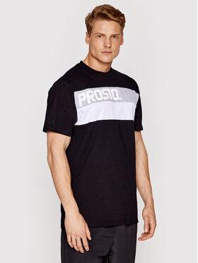 PROSTO. PROSTO. T-Shirt KLASYK Resk 1211 Černá Regular Fit