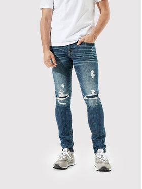 American Eagle American Eagle Jeansy 011-0119-5634 Granatowy Skinny Fit