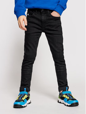 Calvin Klein Jeans Calvin Klein Jeans Farmer IB0IB00766 Fekete Slim Fit