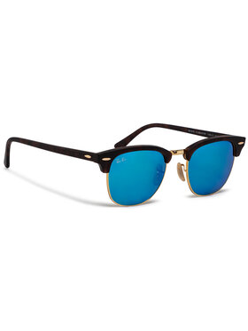 Ray-Ban Ray-Ban Слънчеви очила Clubmaster 0RB3016 114517 Кафяв