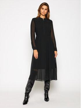 Calvin Klein Calvin Klein Každodenné šaty K20K202435 Čierna Regular Fit