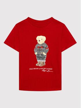 Polo Ralph Lauren Polo Ralph Lauren T-Shirt Classics 322853790001 Czerwony Regular Fit