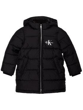 Calvin Klein Jeans Calvin Klein Jeans Pehelykabát Essential IG0IG00594 Fekete Regular Fit