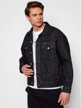 Calvin Klein Jeans Calvin Klein Jeans Kurtka jeansowa J30J318076 Czarny Regular Fit