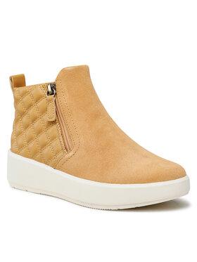 Clarks Clarks Sneakersy Layton Zip 261619804 Żółty
