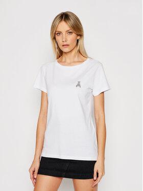 Patrizia Pepe Patrizia Pepe T-shirt 8M1207/A8U4-W103 Bijela Regular Fit