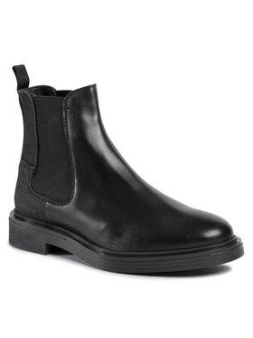 G-Star Raw G-Star Raw Kotníková obuv s elastickým prvkem Vacum Chelsea D18085-9239-990 Černá