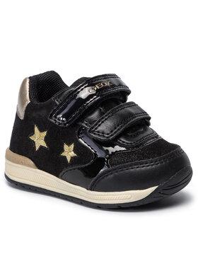 Geox Geox Sneakersy B Rishon G. A B940LA 07702 C0495 Černá