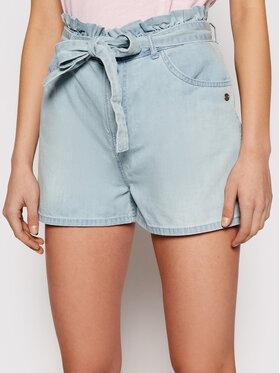 Roxy Roxy Szorty jeansowe Salento Playa ERJDS03221 Niebieski Loose Fit