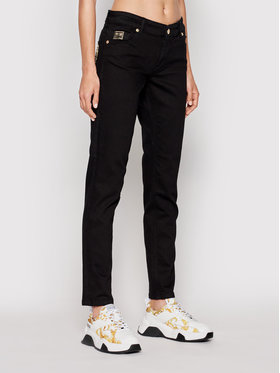 Versace Jeans Couture Versace Jeans Couture Джинси St Round 71HABCK1 Чорний Skinny Fit