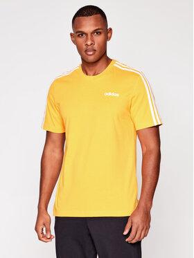 adidas adidas Тишърт Essentials EI9839 Жълт Regular Fit