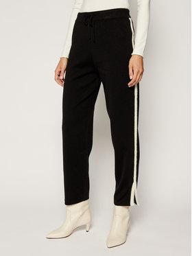 Silvian Heach Silvian Heach Spodnie dresowe PGA19234PA Czarny Regular Fit