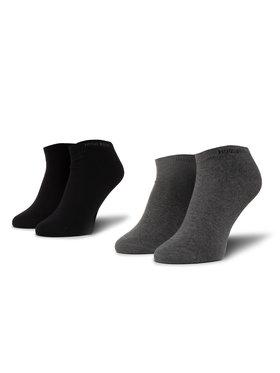 Boss Boss Lot de 2 paires de chaussettes basses unisexe 2P As Color Cc 50407405 Noir