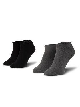 Boss Boss Set od 2 para unisex niskih čarapa 2P As Color Cc 50407405 Crna