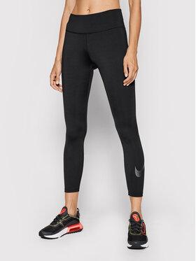 Nike Nike Leginsai One Icon Clash DC5274 Juoda Tight Fit