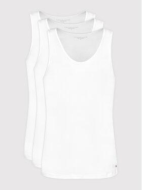 Tommy Hilfiger Tommy Hilfiger Set di 3 tank top 3p UM0UM02143 Bianco Regular Fit