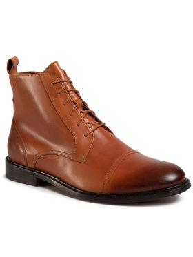 Gino Rossi Gino Rossi Šnurovacia obuv Chuck MTU417-871-4300-5000-2 Hnedá