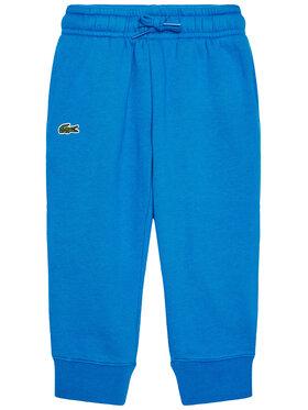 Lacoste Lacoste Teplákové kalhoty XJ9476 Modrá Regular Fit