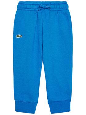 Lacoste Lacoste Teplákové nohavice XJ9476 Modrá Regular Fit