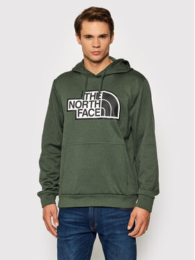 The North Face The North Face Bluza Explr NF0A5G9S Zielony Regular Fit
