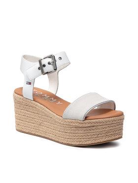 Tommy Jeans Tommy Jeans Espadrile Essential Flatform Sandal EN0EN01320 Bijela