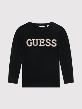 Guess Guess Maglione J1YR07 Z2NQ0 Nero Regular Fit