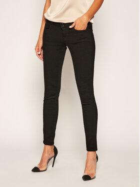 Guess Guess Skinny Fit džínsy Jegging W0YA83 D3OA4 Čierna Ultra Skinny Fit