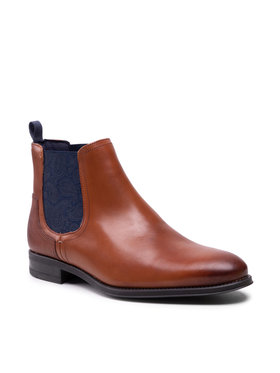 Ted Baker Ted Baker Členková obuv s elastickým prvkom Tradd 241239 Hnedá