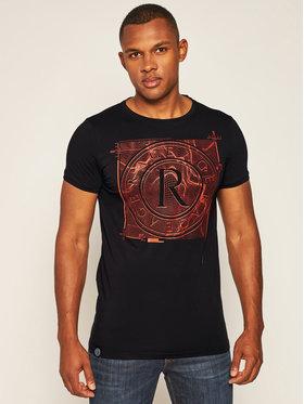Rage Age Rage Age T-Shirt Target 2 Černá Skinny Fit