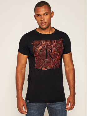 Rage Age Rage Age T-Shirt Target 2 Czarny Skinny Fit