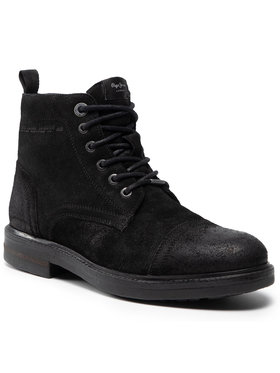 Pepe Jeans Pepe Jeans Bottes Hubert Suede PMS50161 Noir