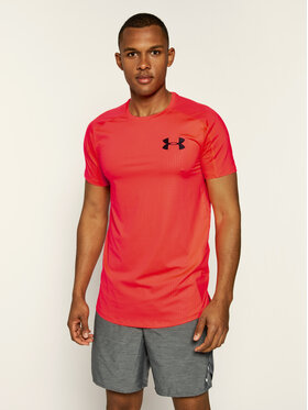 Under Armour Under Armour T-shirt technique Ua Mk-1 Emboss 1345248 Orange Fitted Fit
