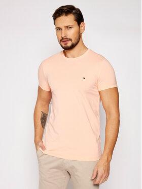 Tommy Hilfiger Tommy Hilfiger T-Shirt Stretch MW0MW10800 Růžová Slim Fit