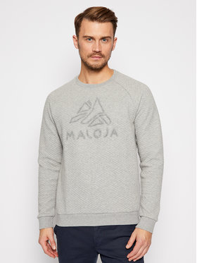 Maloja Maloja Sweatshirt SihlM 30516-1-7096 Grau Regular Fit