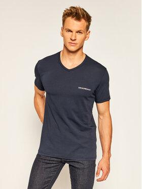 Emporio Armani Underwear Emporio Armani Underwear 2 marškinėlių komplektas 111849 0A717 70835 Tamsiai mėlyna Regular Fit