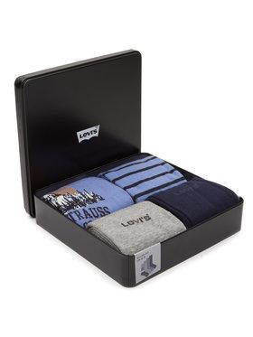 Levi's® Levi's® Σετ ψηλές κάλτσες ανδρικές 4 τεμαχίων 37157-0441 Μπλε