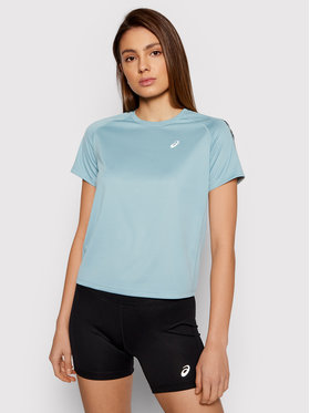 Asics Asics T-shirt technique Icon Ss 2012B044 Bleu Regular Fit