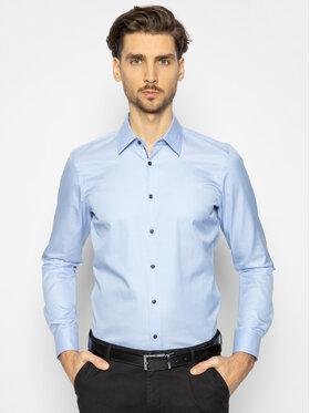Joop! Joop! Marškiniai Piercek 30018881 Mėlyna Slim Fit