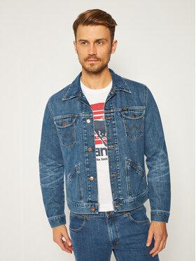 Wrangler Wrangler Jeansová bunda Good Times W4MJZ419W Modrá Regular Fit