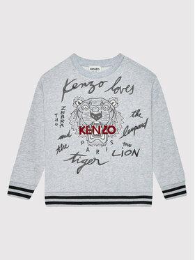 Kenzo Kids Kenzo Kids Bluza K25156 Szary Regular Fit