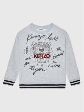 Kenzo Kids Kenzo Kids Суитшърт K25156 Сив Regular Fit