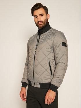Calvin Klein Calvin Klein Bomber bunda Qualited K10K105606 Sivá Regular Fit